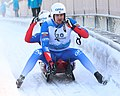 2019-01-25 Doubles Sprint Qualification at FIL World Luge Championships 2019 by Sandro Halank–223.jpg