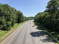 2019-07-15 10 54 41 View north along the southbound lanes of Interstate 95 from the overpass for Vollmerhausen Road on the edge of Columbia and Savage in Howard County, Maryland.jpg