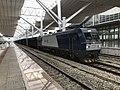 201906 HXD1C-6171 hauls Freight Train at Jinggangshan Station.jpg