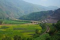 201908 Fala Spiral of Chengdu-Kunming Railway.jpg