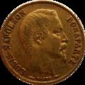 20 francs Louis-Napoléon Avers.png