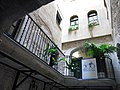 226 Casa de Sant Llorenç, c. Força 12 (Girona), pati.JPG