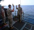 22nd MEU Marine re-enlists while fishing at sea 140504-M-WB921-009.jpg
