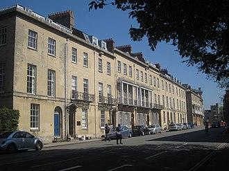 Beaumont Street - View along Beaumont Street