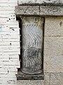 241 Antiga Cooperativa Odèon, c. Gram 22 (Canet de Mar), columna encastada.JPG