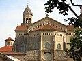 242 Església de Sant Pere (Canet de Mar), absis i campanar.JPG