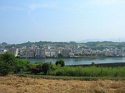 View of Navia.