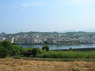Navia, Asturias - View of Navia.