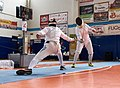 2nd Leonidas Pirgos Fencing Tournament. 4th parry by the fencer on the fight.jpg