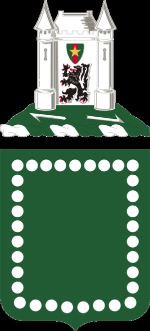 33rd Armor Regiment - Coat of arms