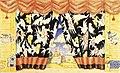 345 БДТ Б.М.Кустодиев. Эскиз занавеса к спектаклю «Блоха» Е.И.Замятина. 1926.jpg