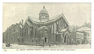 "Unitarian Church of All Souls - 391 4th Ave, ""Holy Zebra"""