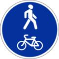 4.5.2 Пешеходная и велосипедная дорожка с совмещенным движением (велопешеходная дорожка с совмещенным движением).png