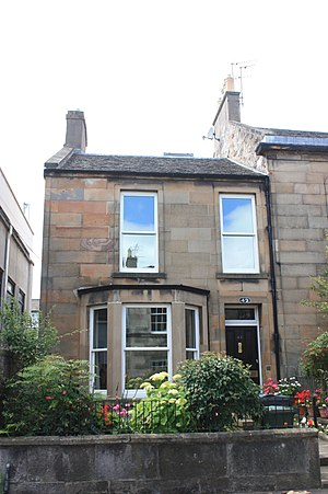 Cargill Gilston Knott - Knott's house at 42 Upper Gray Street, Edinburgh