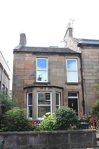 Cargill Gilston Knott - Knott's house at 42 Upper Gray Street, Edinburgh
