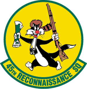 Sylvester the Cat - Image: 45th Reconnaissance Squadron