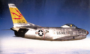 567th Air Defense Group - F-86D of the 465th FIS