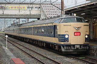 583 series Japanese train type
