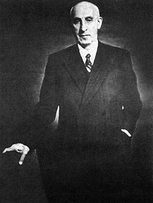 1953 Iranian coup d'état - Mohammad Mosaddegh, The Prime Minister of Iran in 1951