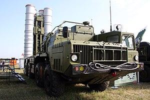 5P85SE2 of the SAM system S-300 PMU-2.jpg