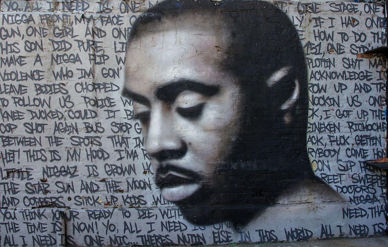 Mural of Nas at 5 Pointz