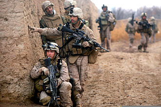 6th Marine Regiment (United States) - Marines from the 3rd Battalion, 6th Marine Regiment in Afghanistan during 2010