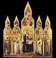 8 Cecco di Pietro. Polyptych from Agnano. 1386-95..jpg
