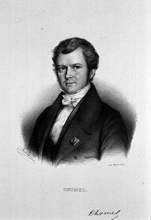 Auguste François Chomel - Auguste François Chomel, engraving by Zéphirin Belliard