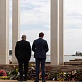AH and PM at Mandurah War Memorial (KN).jpg