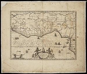 Gerard Valck - Image: AMH 7675 NA Map of the Gold Coast