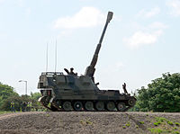 Self-propelled artillery gun