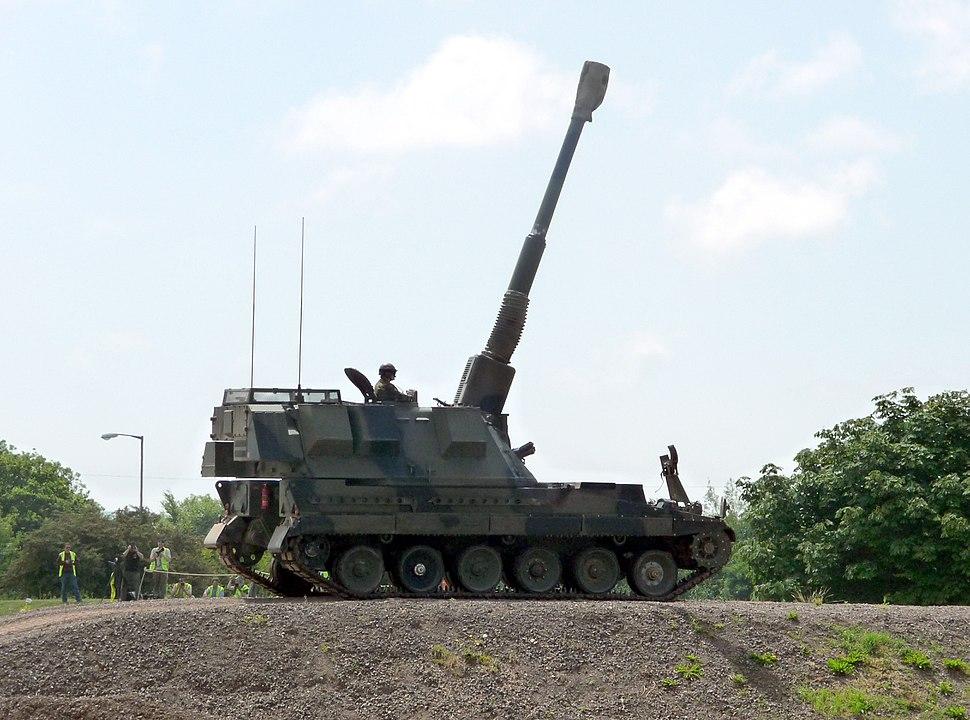 AS90 Self Propelled Gun - Tankfest 2009