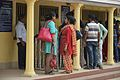 ASI Ticket Office With Visitors - Hazarduari Complex - Nizamat Fort Campus - Murshidabad 2017-03-28 6291.JPG