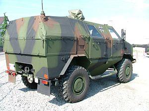 ATF Dingo - Image: ATF Dingo rear view