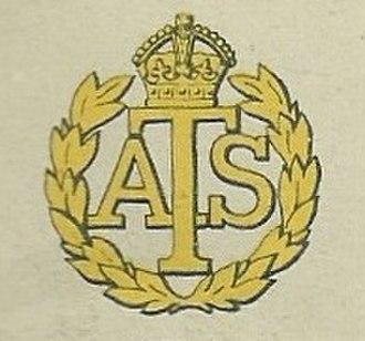 Auxiliary Territorial Service - Cap Badge of the Auxiliary Territorial Service