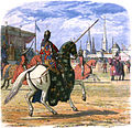 A Chronicle of England - Page 335 - Richard Stops the Duel Between Hereford and Norfolk.jpg