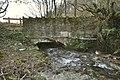 A bridge over the river Caen on Aylescott Hill as seen from upstream - geograph.org.uk - 2176432.jpg