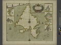 A chart od Iland of NEW FOUND LAND with paticular harbors atlarge NYPL1640629.tiff