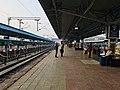 A platform in Bhubaneswar railway station (January 2019).jpg