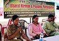 "A police official, Ms. Sakuntala Debbarma addressing at an interactive seminar on Bharat Nirman & peoples' participation"" at Bharat Nirman Public Information Campaign, organized by PIB, at Matabari, South Tripura,.jpg"