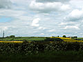 A view from West Willoughby towards Honington, Lincolnshire, England.jpg