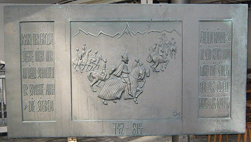 File:Aachen 7-Künste-Denkmal Text.jpg