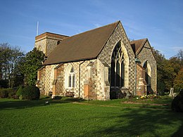 Abbots Langley - The Church of St Lawrence the Martyr - geograph.org.uk - 272827.jpg