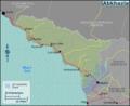 Abkhazia regions map.png