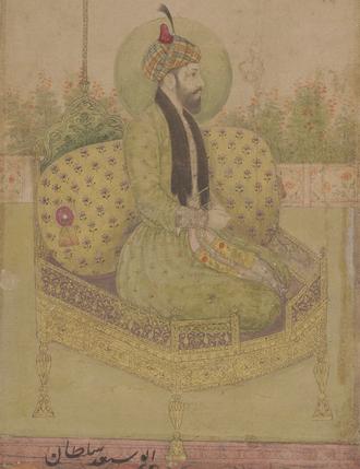 Abu Sa'id Mirza - Mughal illumination of Sultan Abu Sa'id Mirza