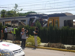 Metrovalencia - Accident occurred on 9 September 2005