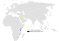 Acrocephalus griseldis distribution map.png