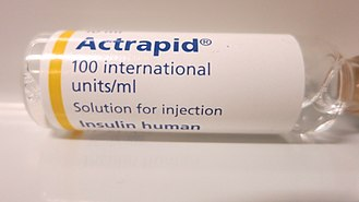 Frutiger (typeface) - Frutiger is often used on pharmaceuticals, for example this insulin vial.