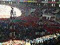 Actuació conjunta de la cinquena ronda al Concurs de Tarragona 2008.jpg