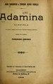 Adamina - zarzuela en prosa y verso, en un acto y cuatro cuadros (IA adaminazarzuelae507chav).pdf